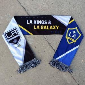 Los Angeles Kings & Galaxy 2017 Night NHL Scarf